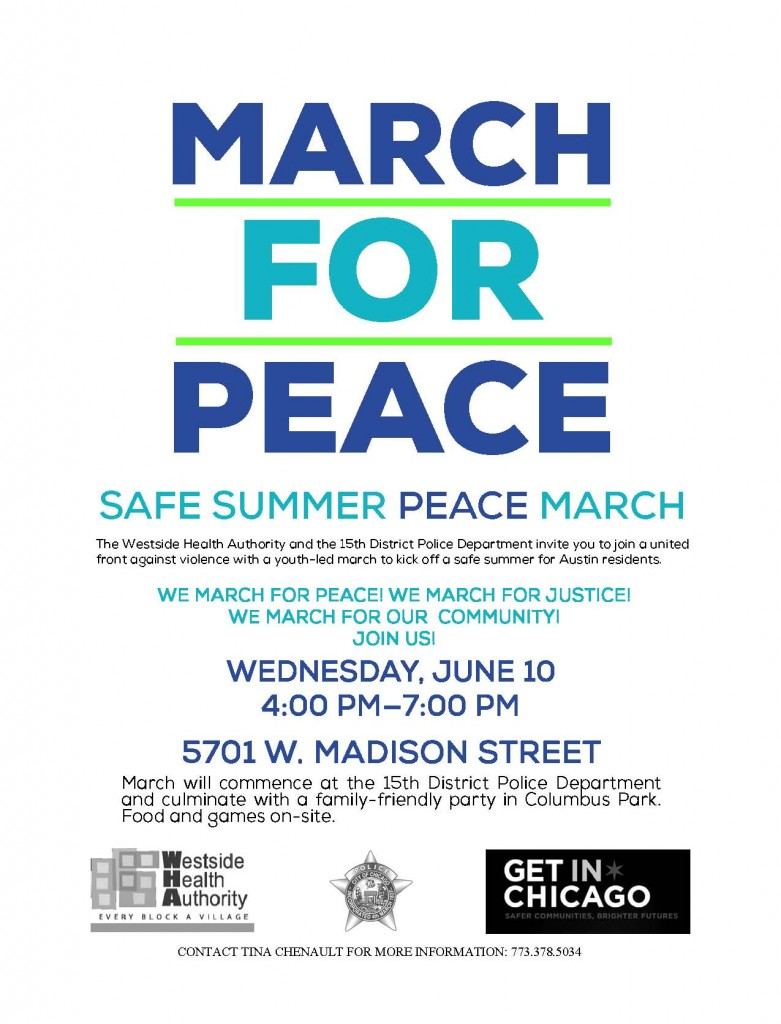Chicago Youth and Police Organize Anti-Violence March in ...March For Peace