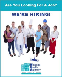 Westside Health Authority-Are you looking for a job